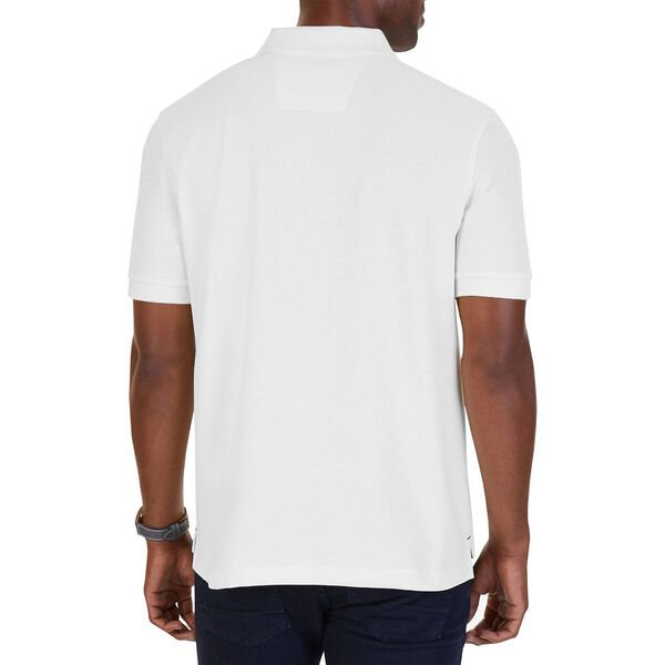 Big & Tall Short Sleeve Deck Polo, Bright White, hi-res