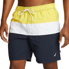 COLOUR BLOCK QUICK DRY SWIM SHORTS