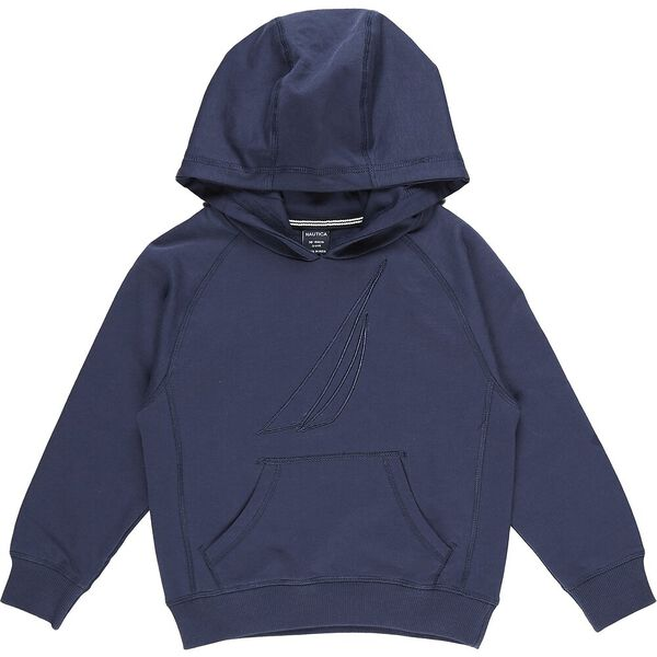 Boys 3-7 Mini Always Ready Hoodie, Navy, hi-res