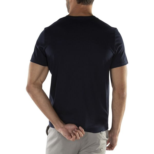 CREW NECK GRAPHIC TEE, NAVY, hi-res