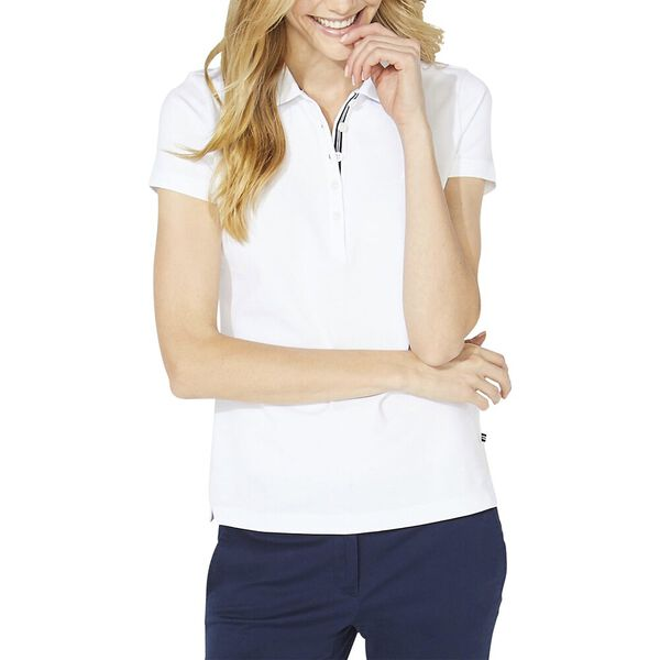Classic Fit Chambray Collar Polo