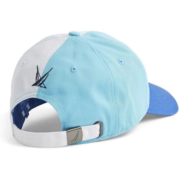 Blue Sail Colourblock Baseball Cap, Bachelor Button, hi-res