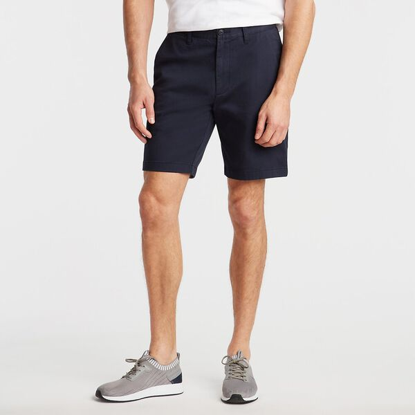"18.5"" Classic Fit Deck Shorts With Stretch Navy"