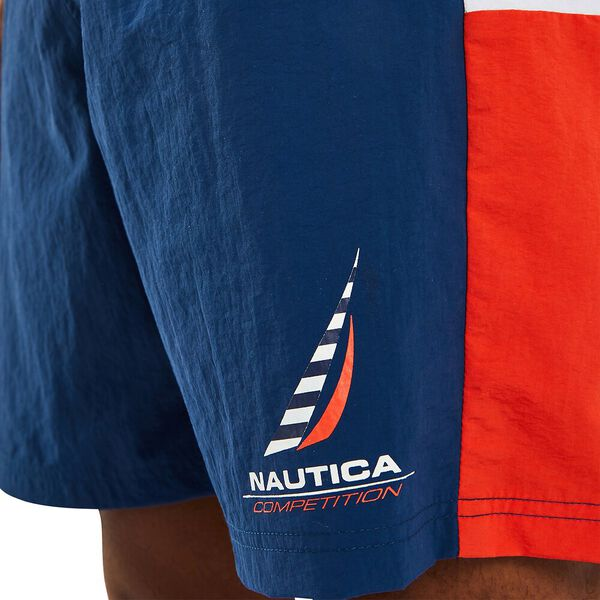 "Nautica Competition 16"" Turret Swim Shorts, Navy, hi-res"
