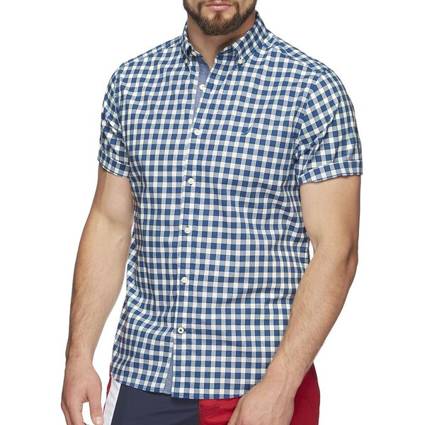 SHORT SLEEVE CLASSIC PLAID SHIRT