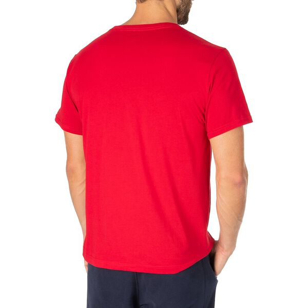J Class Wave Graphic Tee, Nautica Red, hi-res
