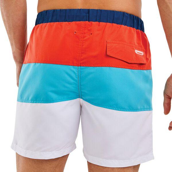Nautica Competition Bumpkin Swim Shorts, Red, hi-res