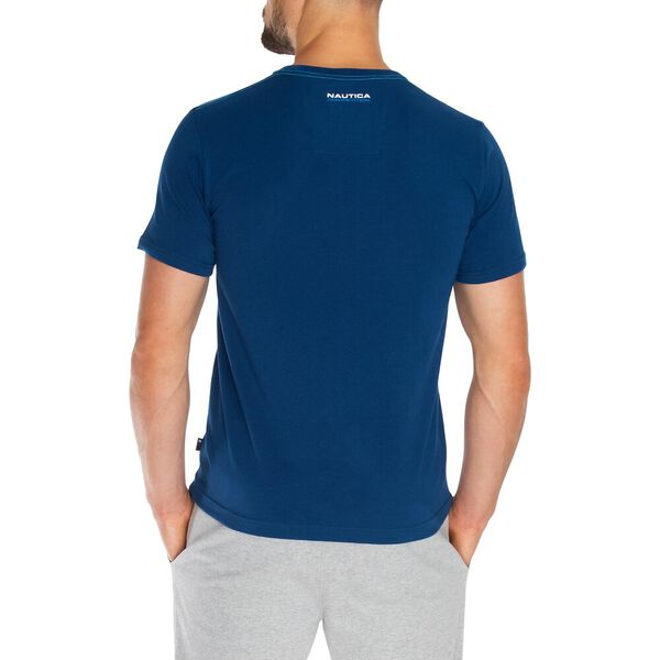 Nautica Competition Logo Graphic Tee, Estate Blue, hi-res