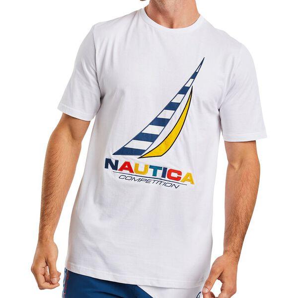 Nautica Competition Zebec Tee, Bright White, hi-res