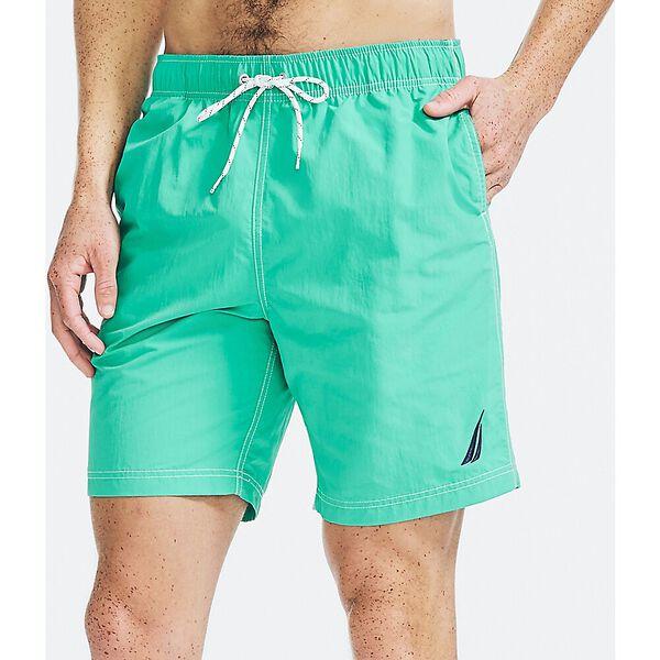 """J. Class 8"""" Swim Shorts, Lobos Green, hi-res"""