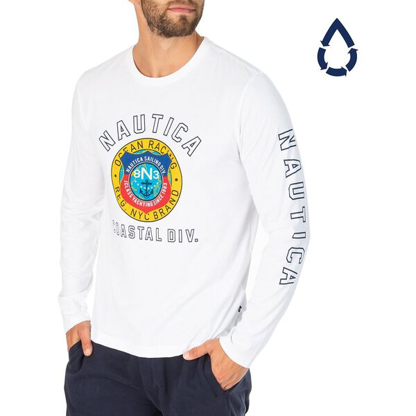 Sustainably Crafted Coastal Division Long Sleeve Tee