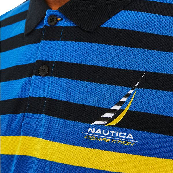 Nautica Competition Banyan Polo, Spinner Blue, hi-res