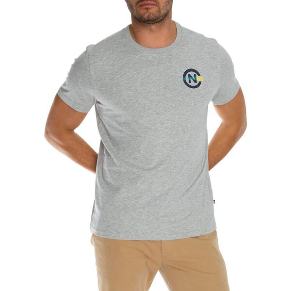 Take A Spin Short Sleeve Tee, Grey Heather, hi-res
