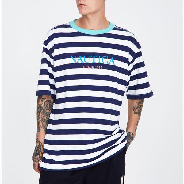 Stripe T-Shirt Twilight Blue, Twilight Blue, hi-res