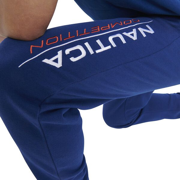 Nautica Competition Fin Track Pants, Navy, hi-res