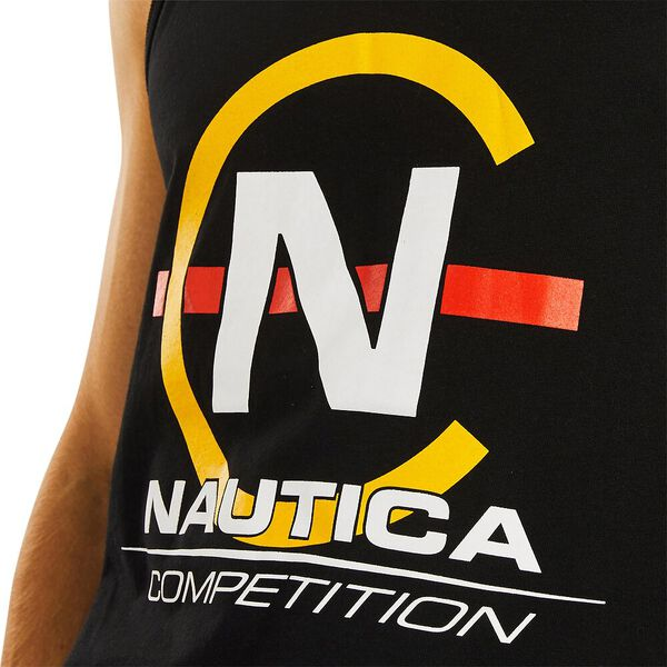 Nautica Competition Alec Singlet, True Black, hi-res