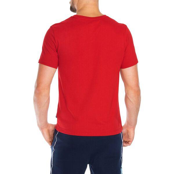 Nautica Jeans Co. Chest Stripe Logo Graphic Tee, Nautica Red, hi-res