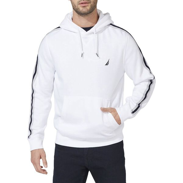 Beachy Pullover Hoodie, Bright White, hi-res