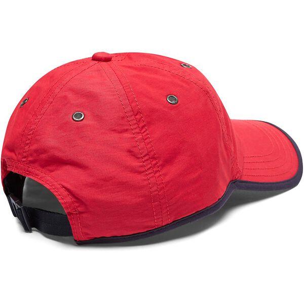 PERFORMANCE J CLASS LOGO CAP, NAUTICA RED, hi-res