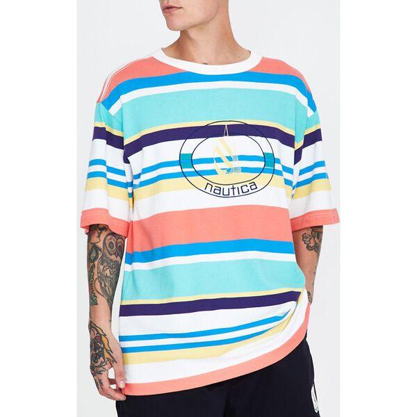 Stripe T-Shirt Breezy Blue