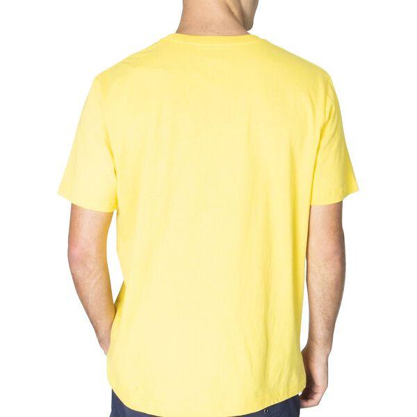 Reissue Est. Stripe Short Sleeve Tee, Aspen Gold, hi-res