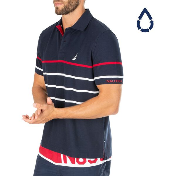 Sustainably Crafted Colour Stripe Polo