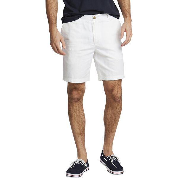 Cotton Linen Short, Bright White, hi-res