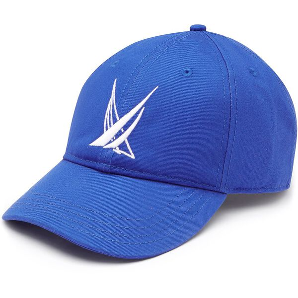 BLUE SAIL LARGE LOGO BASEBALL CAP