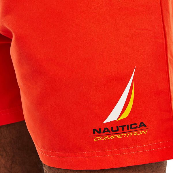 Nautica Competition Decks Swims, Nautica Red, hi-res