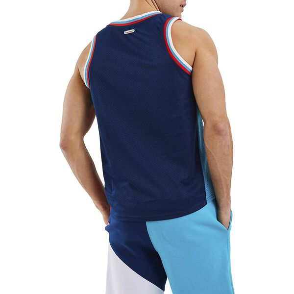 Nautica Competition Anson Singlet, Navy, hi-res