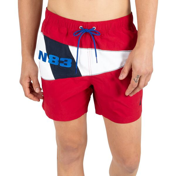 "N83 Nuatical flag 6"" Swim Shorts"