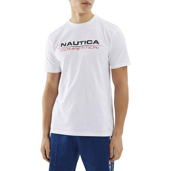 Nautica Competition Vang Tee, White, hi-res