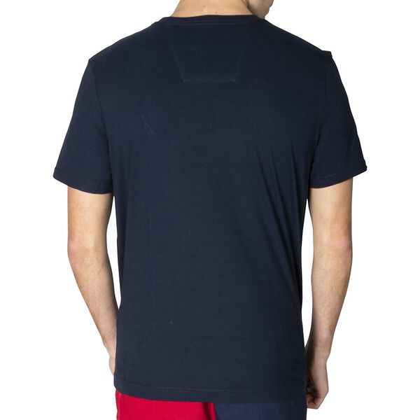 Block On Short Sleeve Tee, Navy, hi-res