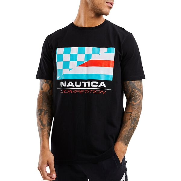 Nautica Competition Primage Tee, Black, hi-res