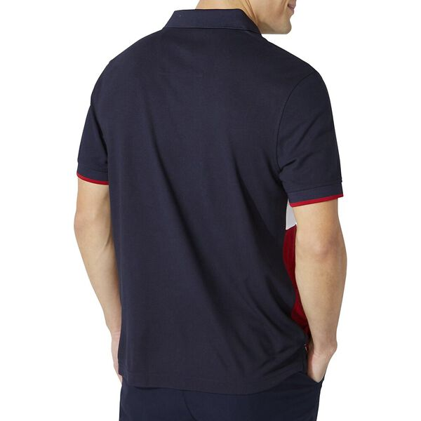 Classic Fit Essential Colourblock Polo, Navy, hi-res