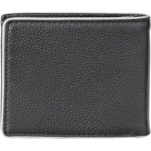 Pebbled Leather J. Class Wallet, Black, hi-res
