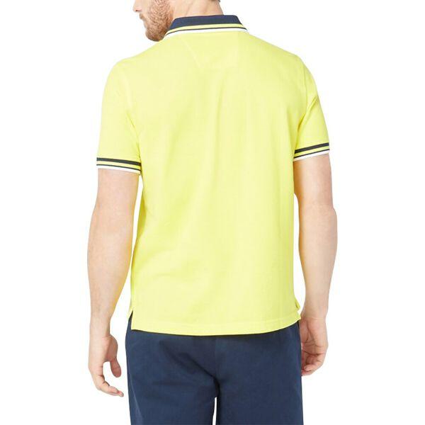 Solid Logo Polo Shirt, Blazing Yellow, hi-res