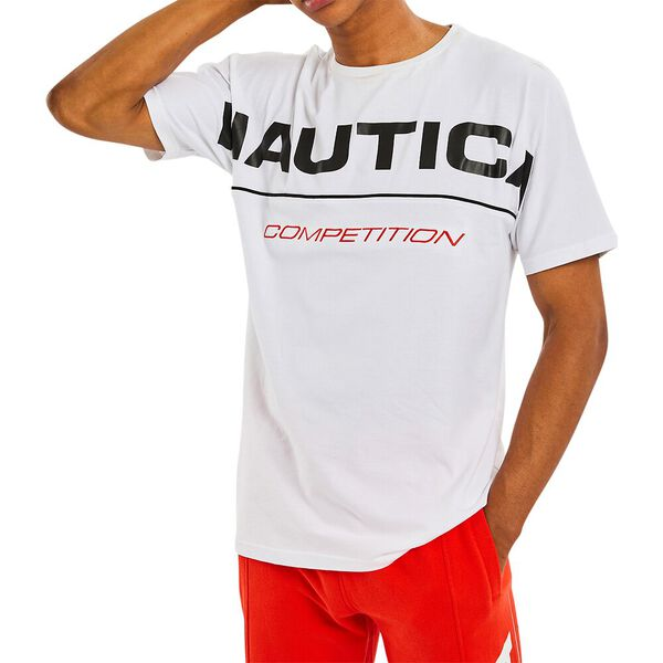 Nautica Competition Barber Tee, Bright White, hi-res