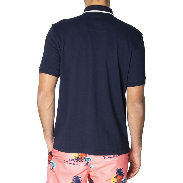 Classic Fit N83 Varisty Polo, Navy, hi-res