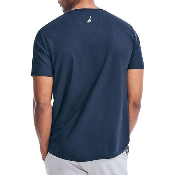 Sustainably Crafted Band It Tee, Navy, hi-res
