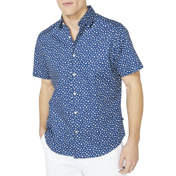 Classic Fit Stretch Floral Shirt