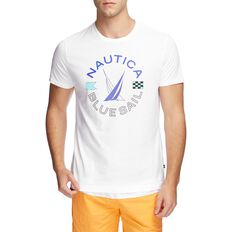 BLUE SAIL WHEEL GRAPHIC TEE