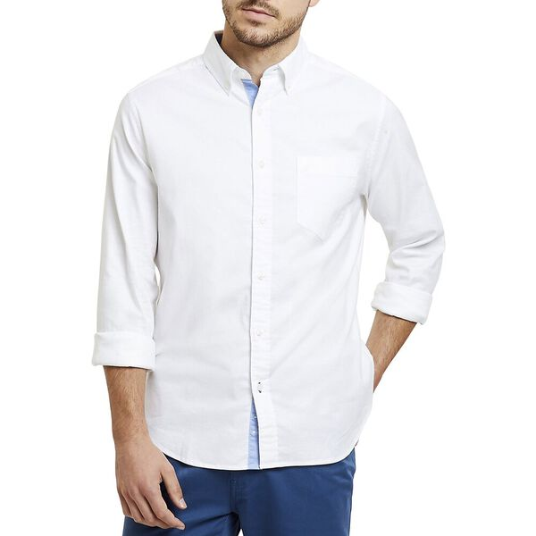 Classic Fit Wrinkle Resistant Stretch Oxford Shirt