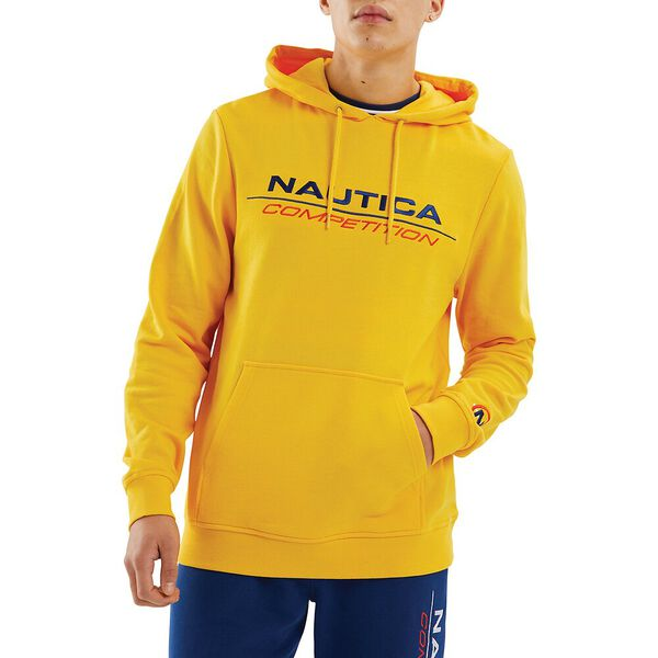 Nautica Competition Convoy Hoodie, Yellow, hi-res