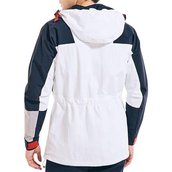 The Nautica Competition Sailing Parka Jacket, White, hi-res
