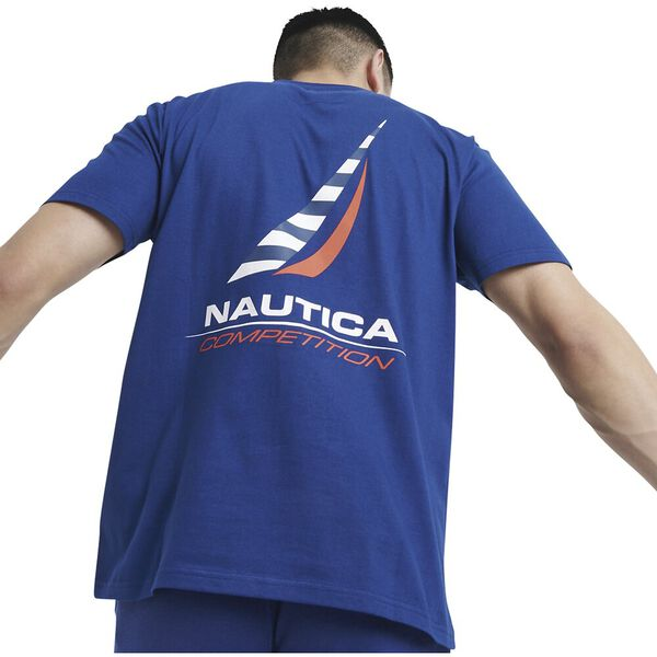 Nautica Competition Afore Tee, Navy, hi-res