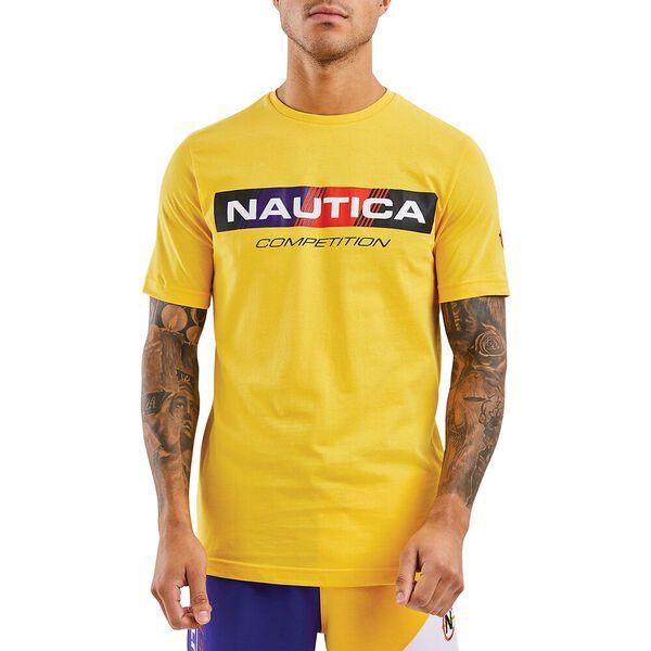Nautica Competition Polacca Tee, Yellow, hi-res