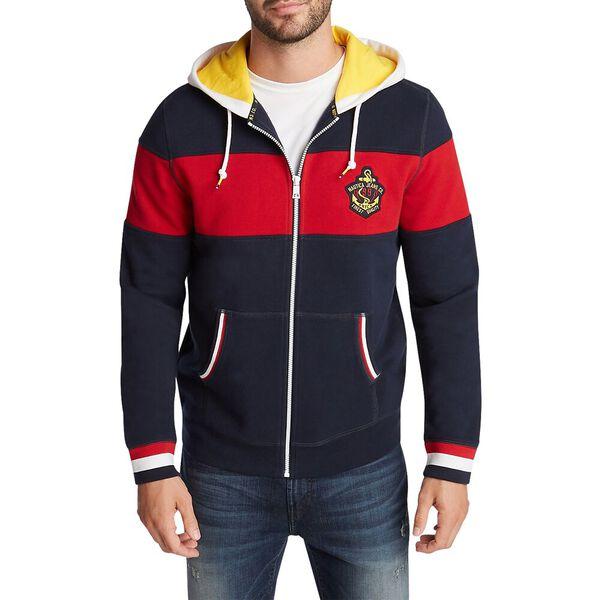 Nautica Jeans Co. Full Zip Hoodie, Navy, hi-res