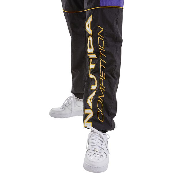 Nautica Competition Emba Shell Suit Pants, Black, hi-res