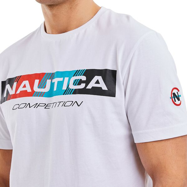 Nautica Competition Polacca Tee, White, hi-res